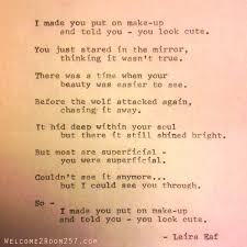 poem you look welcome to room 257welcome to room 257