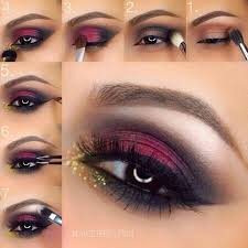 s did you know that these days in bridal makeup maroon smokey eye makeup is highly useable yes you can also choose it for you brida