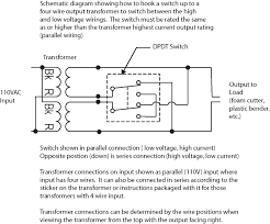low voltage transformer wiring diagram gooddy org