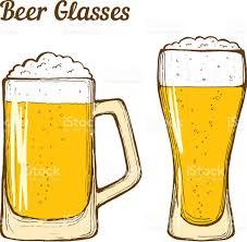 cartoon beer pint beer glasses stock vector art 537694206 istock