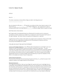 ideas collection cover letter for academic instructor position on