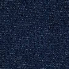 this is a solid blue cotton denim upholstery fabric suitable for