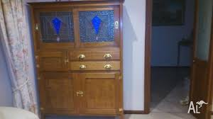 leadlight kitchen cabinets antique leadlight kitchen cabinet for sale in fairview park
