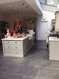 tiled kitchen floor ideas gray tile floor kitchen gen4congress
