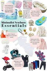 newborn essentials together in minimalist newborn essentials just the basics