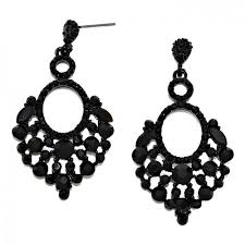 black chandelier earrings black chandelier earrings zeige earrings