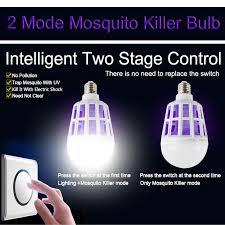 insect killer light bulb greeneye 2mode e27 led mosquito killer l bulb 15w 220v uv