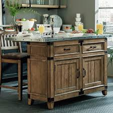 kitchen island with stainless top loon peak brigadoon kitchen island with stainless steel top