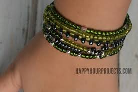 beaded bracelet clasp images Beaded button clasp bracelet happy hour projects jpg