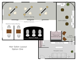 salon layout u2013 modern house