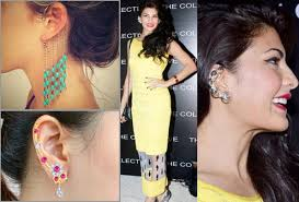 s ear cuffs trendy alert how to wear ear cuffs like a