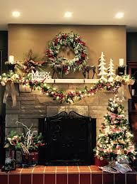 christmas mantle home sweet home pinterest mantle christmas