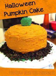pumpkin cake decoration ideas kristina does the internets october 2012