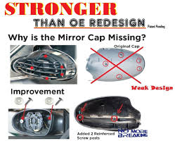 nissan altima 2005 mirror replacement b709 mirror cap cover for 02 06 nissan altima right side ey1
