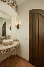 Mexican Wall Sconce Mexican Tile Designs Bathroom Mediterranean With Wall Sconce Dark