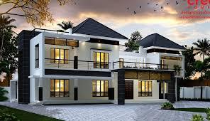 kerala home design facebook 3688 sq ft double floor contemporary home design veeduonline