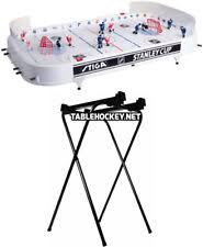 rod hockey table reviews stiga 37 in nhl stanley cup rod hockey table top game sports