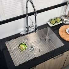 Drop In Stainless Steel Sink Vapsint Jzx005s Modern Commercial 32 Inch Drop In Stainless Steel