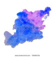 vector watercolor splash texture background isolated stock vector