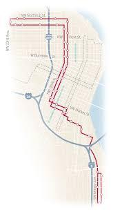 Portland Streetcar Map by Hop Aboard The Portland Streetcar To Discover The City U0027s Hidden