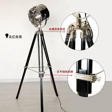 Home Decor Floor Lamps Loft Industrial Vintage Tripod Floor Lamp Retro Studio Photography