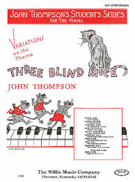 Three Blind Mice Piano Notes Variations On Three Blind Mice Sheet Music By Traditional Sheet
