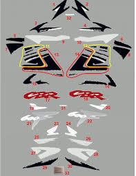 cbr 600 f cbr 600 f 1998 black orange u20ac2 50 motor stickers com the