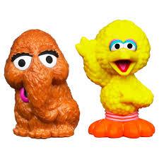 playskool sesame street snuffleupagus u0026 big bird 2 pack