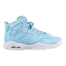 kid shoes kids air retro 6 vi gs pantone still blue white 543390 407