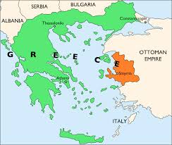 Greece On A Map File Ionia Within Greece 1919 Svg Wikimedia Commons