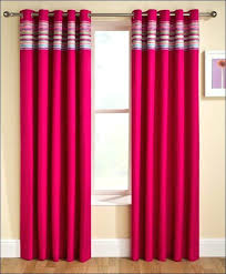 Pink Striped Curtains Pink Striped Curtains Striped Curtains Ruffle Bottom Blackout