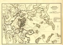 Boston Street Map Boston With Its Environs 1775 U0026 1776