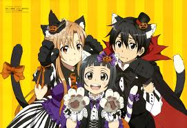 anime happy halloween latest 4214 2887 sword art online fan art pinterest sword