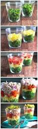 Summer Lunch Menu Ideas For Entertaining - diy salad bar for a party guests will enjoy putting their own