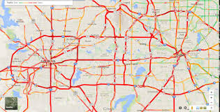 traffic map dallas traffic map map of dallas traffic usa