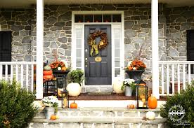 fall decorating ideas for your front porch and entryway noticeable