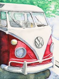 volkswagen bus painting scott parker studio