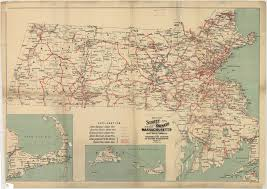 Map Of Massachusetts by Map Of The Street Railways Of The State Of Mass