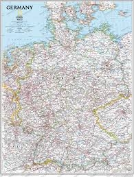 Germany Map by Germany Wall Map Wall Maps