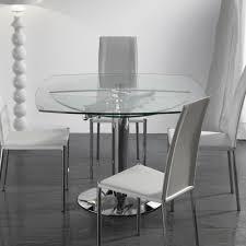 tavoli design cristallo table a manger design italien inspirations avec tables extensibles
