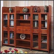 Wood Bookshelves With Doors by 20 Best Wood Bookcase Images On Pinterest Solid Wood Wood Doors