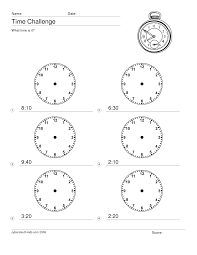 What Time Is It Worksheet Worksheet On What Time Is It