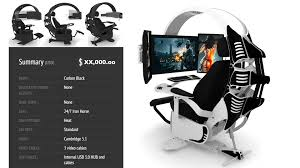 ultimate computer chair furniture most expensive computer chair reclining video game