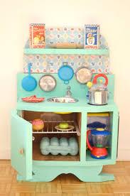 cuisine enfant vintage diy une cuisine enfant vintage à petit prix déco diy