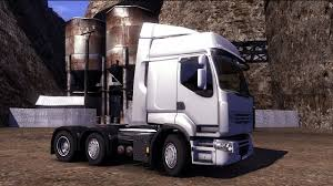renault truck premium euro truck simulator 2 driving the renault premium 6x2 the
