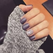 purple matte nails nail design nail art nail salon irvine