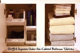 hdydi organize under the cabinet bathroom toiletries team whitaker