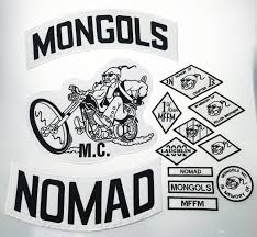 biker vest top quality mongols nomad mc biker vest embroidered patch 1 mffm