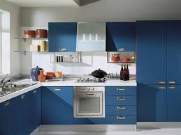 Blue Kitchen Design Home Decoration Modern Kitchen Designs In Blue