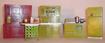 my vintage dollhouses miss marx little hostess 1964 meets mr kitchen appliances and hutch